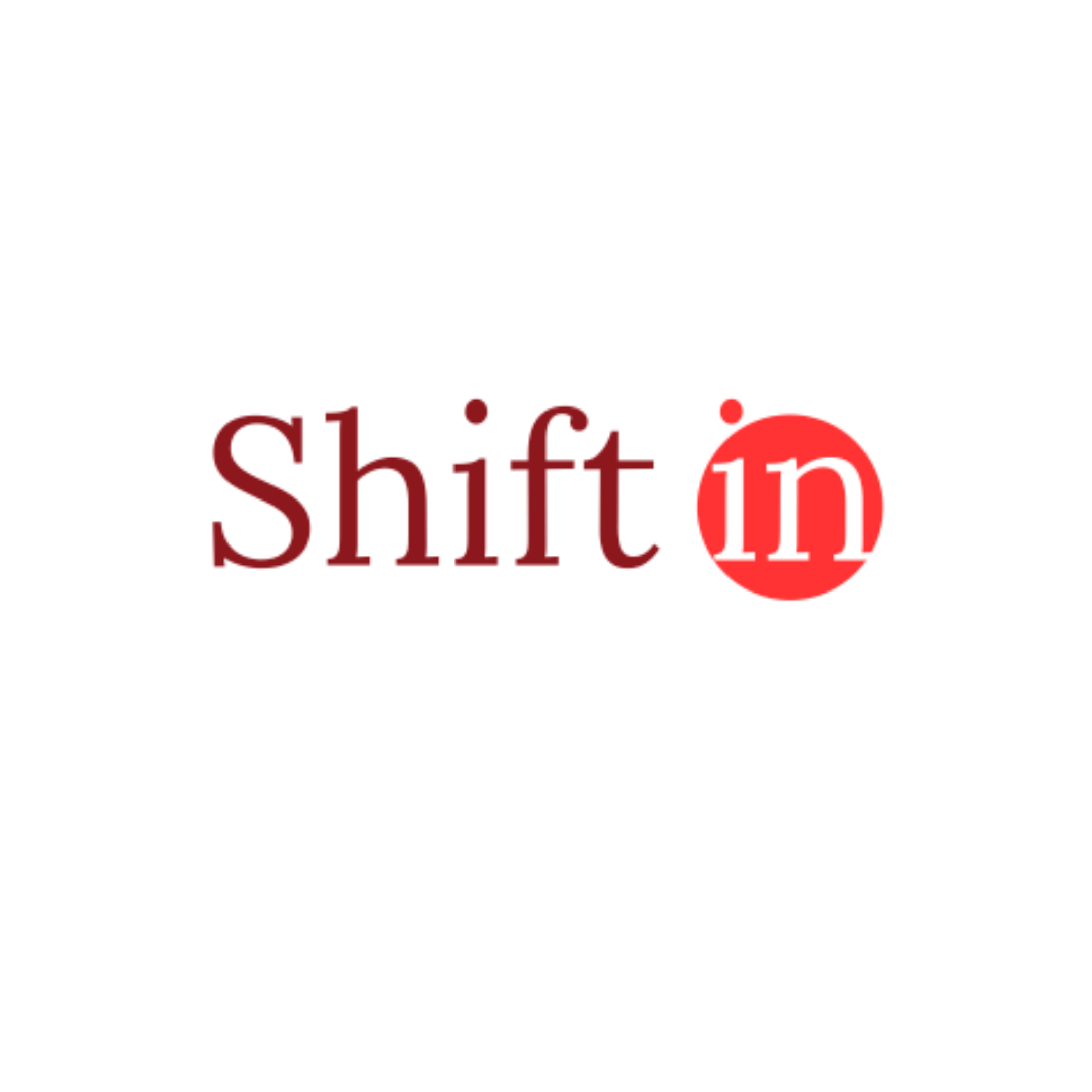 shift in logo